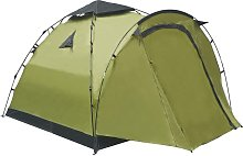 Asupermall - Pop Up Camping Tent 3 Person Green