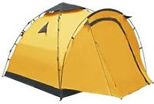 Asupermall - Pop Up Camping Tent 3 Person Yellow