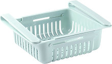 Asupermall - Retractable Fridge Organizer Pull Out