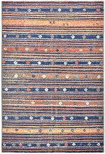 Asupermall - Rug Blue and Orange 140x200 cm PP