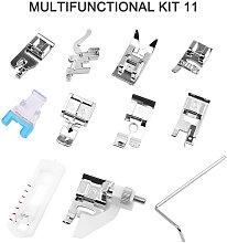 Asupermall - Sewing Machine Presser Feet Set 11PCS