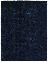 Asupermall - Shaggy Area Rug 120x160 cm Blue