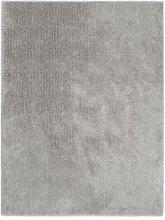 Asupermall - Shaggy Area Rug 120x160 cm Grey