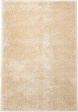 Asupermall - Shaggy Area Rug 120x170 cm Beige