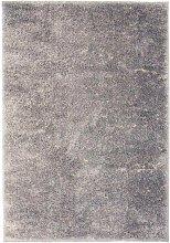 Asupermall - Shaggy Area Rug 120x170 cm Grey