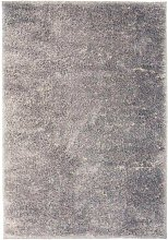 Asupermall - Shaggy Area Rug 140x200 cm Grey