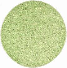 Asupermall - Shaggy Area Rug 160 cm Green