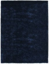Asupermall - Shaggy Area Rug 80x150 cm Blue