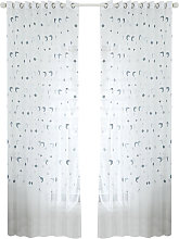 Asupermall - Sheer Curtains Voile Window Curtain