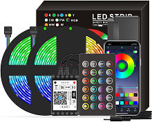 Asupermall - Smart Wifi LED RGB Strip Lights IP65
