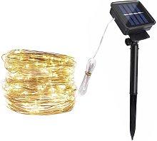 Asupermall - Solar Copper Lamp String Christmas