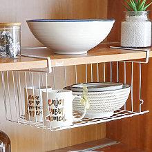 Asupermall - Stackable Hanging Basket Under Shelf