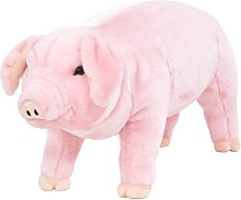 Asupermall - Standing Plush Toy Pig Pink XXL