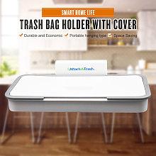 Asupermall - Trash Bag Holder Garbage Bag Hanger