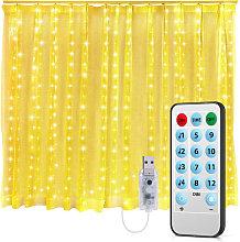 Asupermall - Twinkle Star 300 LED Window Curtain