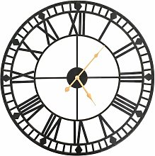 Asupermall - Vintage Wall Clock with Quartz
