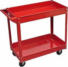 Asupermall - Workshop Tool Trolley 100 kg Red