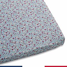 Atelier de Morphée Baby Fitted Sheet Liberty Oval