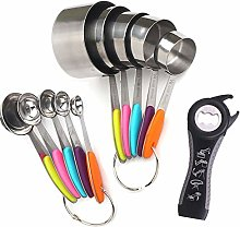 Atfung Measuring Cups Stainless Steel Measuring