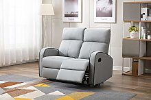 Athon furniture Light Grey Leather Stylish 2