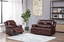 Athon furniture Mahogany Brown 2+1 seater, Double