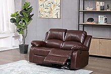 Athon furniture Mahogany Brown 2 seater, Double