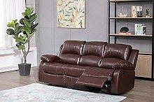 Athon furniture Mahogany (Brown) 3 seater,