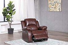Athon furniture Mahogany Brown Armchair Recliner