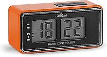 Atlanta 1881 Digital Alarm Clock LCD Radio Alarm