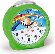 Atlanta Alarm Clock, Plastic, green, 9.5cm