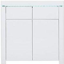 Atlantic Compact Gloss Sideboard