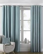 Atlantic Eyelet Ringtop Curtains (168 x 137cm)