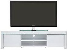 Atlantic Gloss Tv Unit With Led Lights - Fits Up