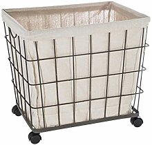 Laundry Basket On Wheels Shop Online And Save Up To 39 Uk Lionshome