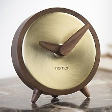 Atomo Tabletop Clock Nomon Finish: Gold