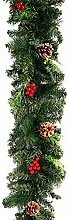 ATopoler 1.8M Christmas Garland Decoration