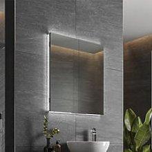 Atrium 60 LED Double Door Semi-Recessed Bathroom