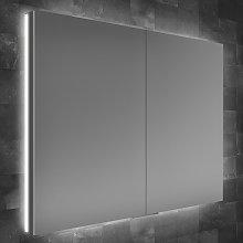 Atrium 80 LED Double Door Semi-Recessed Bathroom
