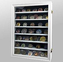 AtSKnSK Challenge Coin Display Case Cabinet Rack
