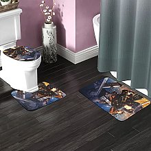 Attack on Titan Bathroom Rugs Set Non-Slip Water