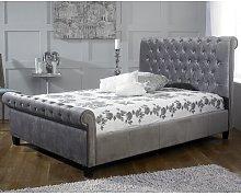 Attayac Upholstered Sleigh Bed Borough Wharf