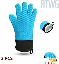 ATWG Extended silica gel oven gloves, high