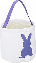 Atyhao Easter Egg Hunt Basket Bunny Bags for Kids