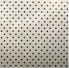 AU Maison - Navy Blue Dots Grey Background Resin