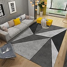 AU-SHTANG living room carpet Gray carpet, triangle