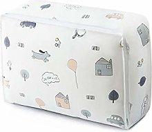 AUBERSIT Printed Quilt Storage Bag, Portable