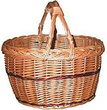Aubry Gaspard Crocane Basket Wicker Buff Years