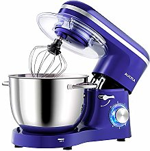 Aucma Stand Mixer,1400W Tilt-Head 6.2L Food Mixer,