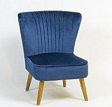 Audrey Cocktail Chair Hykkon Upholstery Colour: