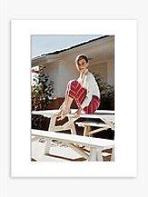 Audrey Hepburn - 1954 Unframed Print & Mount, 50 x